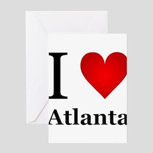 I Love Atlanta Greeting Card
