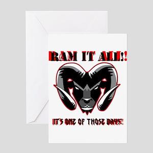 RAM_IT Greeting Cards