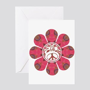 Peace Flower - Affection Greeting Card