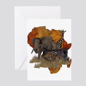 Safari Greeting Card