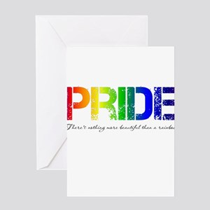 Pride Rainbow Greeting Card