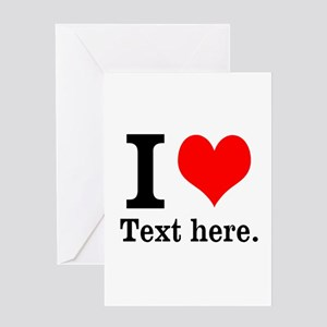What do you love? Greeting Card
