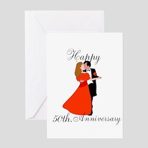Custom Anniversary Greeting Card
