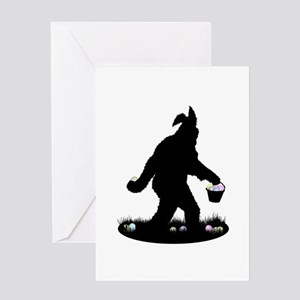 Easter Squatchin Greeting Card