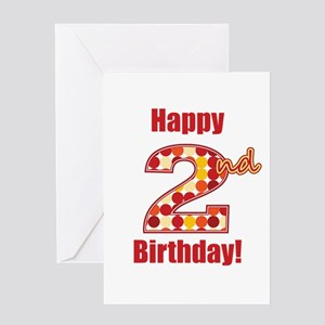 Happy 2nd Birthday! Greeting Card