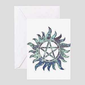 Supernatural Symbol Greeting Card