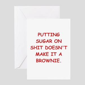 BROWNIES Greeting Card