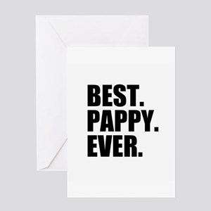 Best Pappy Ever Greeting Cards