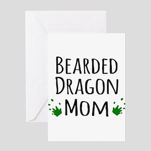 Bearded Dragon Mom Greeting Cards