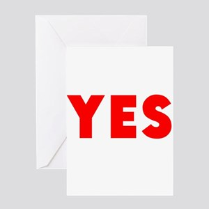 Yes Greeting Cards