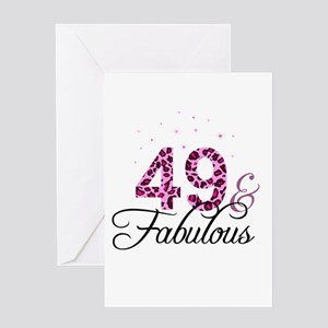 49 and Fabulous Greeting Cards
