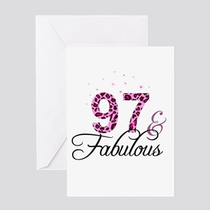 97 and Fabulous Greeting Cards