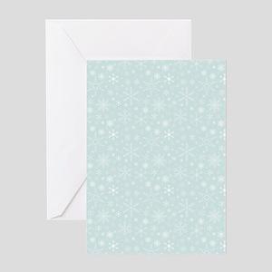 Anticipated Snow Greeting Card