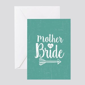 Mother Bride Greeting Card