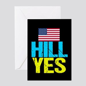 Hill Yes Greeting Card