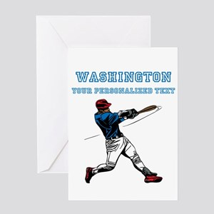 Baseball Greeting Cards