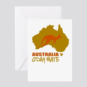 Australia Greeting Cards
