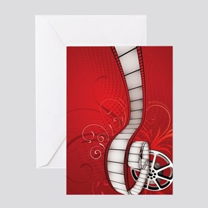 FILM REEL Greeting Cards