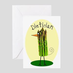 Dietician Bird 1 Greeting Card