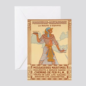 Vintage poster - Egypt Greeting Cards