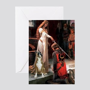 The Accolade & Boxer Greeting Card