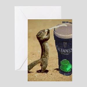 Irish Shop Greeting Card
