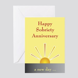 Greeting Card: Happy Sobriety Anniversary