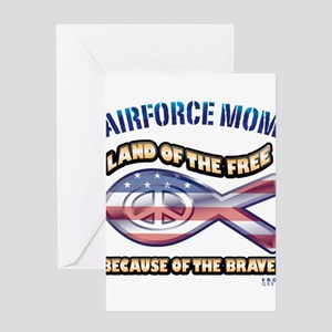Airforce Mom Greeting Card