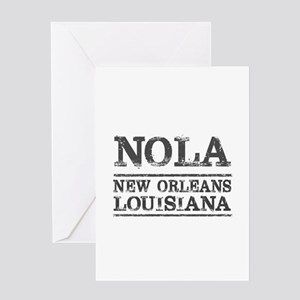 NOLA New Orleans Vintage Greeting Cards