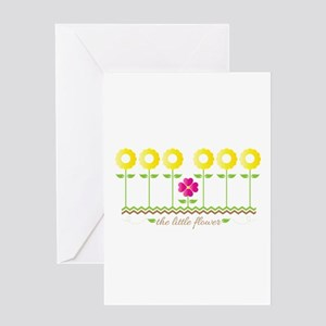 The Little Flower Greeting Cards