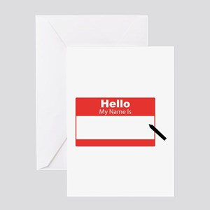My Name Is Greeting Cards