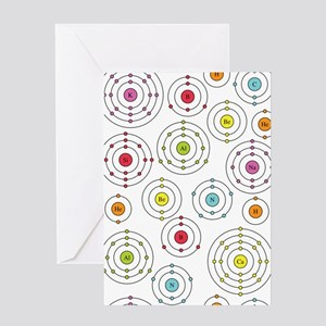 Periodic Shells Greeting Card