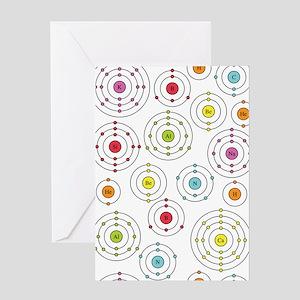 Periodic Shells Greeting Card