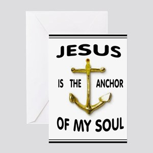 SOUL ANCHOR Greeting Cards