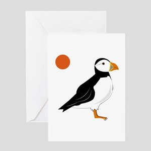 Puffin Bird Greeting Cards
