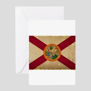 Florida State Flag VINTAGE Greeting Cards