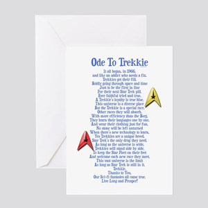 Ode To Trekkie Greeting Card