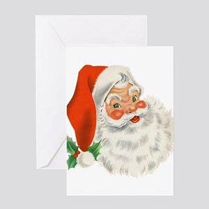 Vintage Santa Greeting Cards