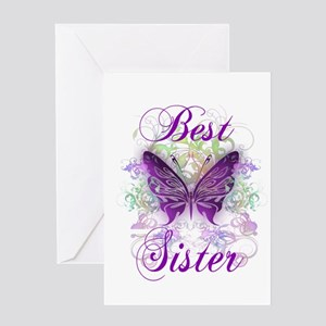 Best Sister Greeting Card