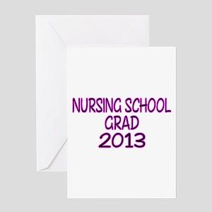 2013 NURSING SCHOOL copy Greeting Card