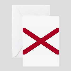 Alabama Flag Greeting Card