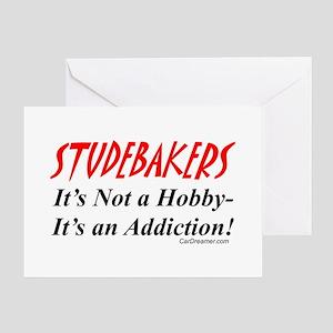 Studebaker Addiction Greeting Cards