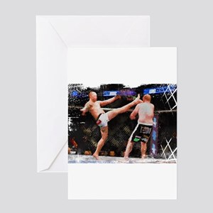 Mixed Martial Arts - A Kick to the Greeting Cards