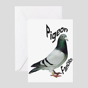 Pigeon Fancier Greeting Cards