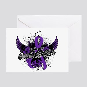 Epilepsy Awareness 16 Greeting Card