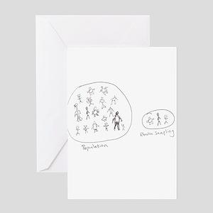 Random Sampling Greeting Card