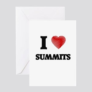 I love Summits Greeting Cards