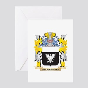 Bridgewater Coat of Arms - Family C Greeting Cards