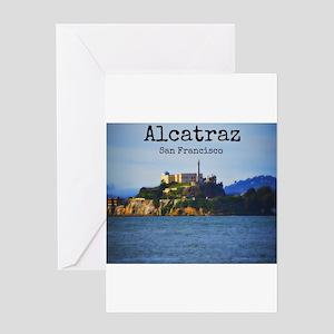 Alcatraz Island San Francisco Greeting Cards