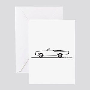 1968 1969 Roadrunner Convertible Greeting Card